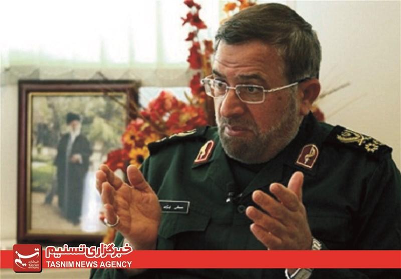 سرلشکر ایزدی: اقتدار جمهوری اسلامی ایران دشمن را مستاصل کرده است