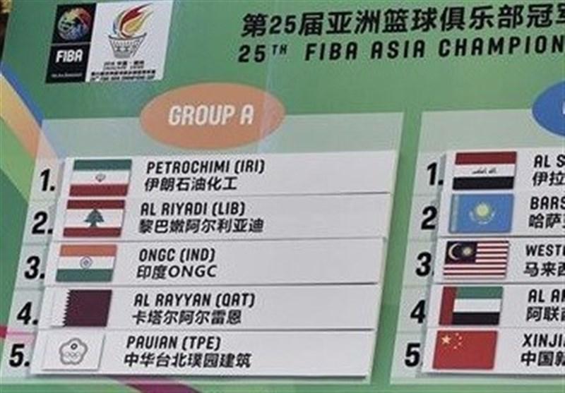 Iran's Petrochimi Knows Rivals at FIBA Asia Champions Cup