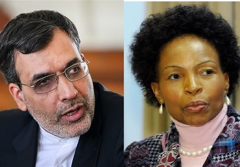 Iran, South Africa Discuss Coordination of Efforts to Boost Ties