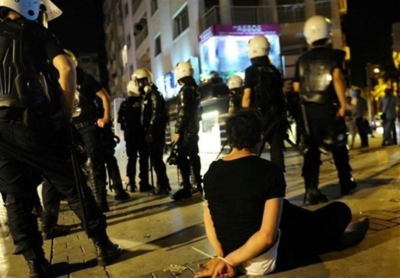 دستگیری ترکیه
