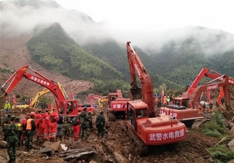Over 8 Dead, 19 Missing after China Landslides