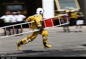 مسابقات عملیاتی پرسنل ایمنی و آتش نشانی فرودگاه های کشور