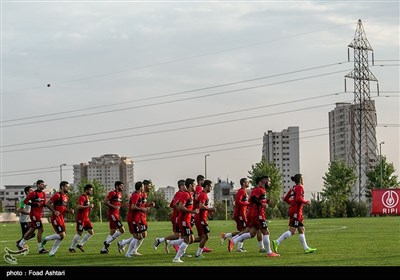 Team Melli Getting Prepared for Match against Uzbekistan