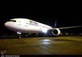 فرود نخستین پرواز شرکت هوایی ملی تایلند در ایران