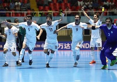 فوتسال ایران با شکست پرتغال به مقام سوم جهان رسید