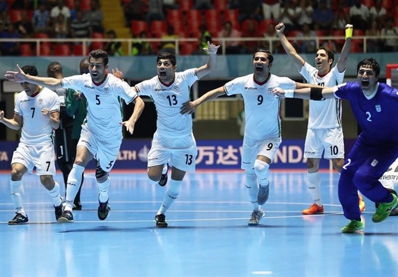 نتیجه تصویری برای سومی ایران در جام جهانی فوتسال