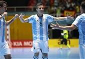 الأرجنتین تتوج لأول مرة بکأس العالم لکرة الصالات