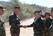 بازدید فرمانده ستاد کل ارتش سوریه