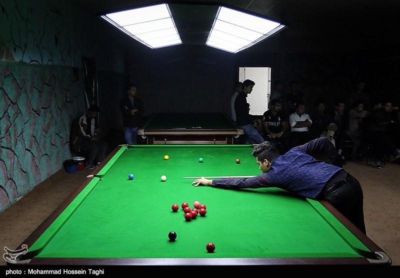 مسابقات قهرمانی اسنوکر - مشهد