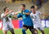 علی غلامزاده، دروازهبان تیم فوتبال نوجوانان ایران