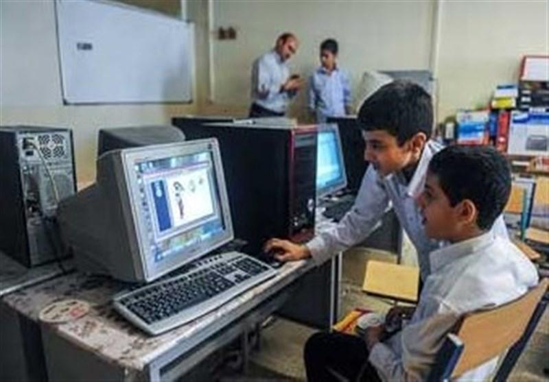 حضور دانش آموزان در فضای مجازی