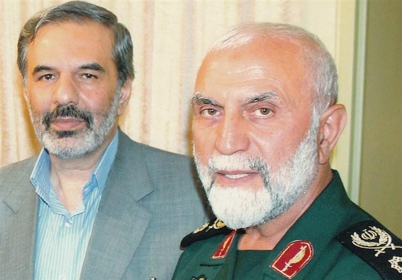 سردار شهید همدانی و سردار مظاهری