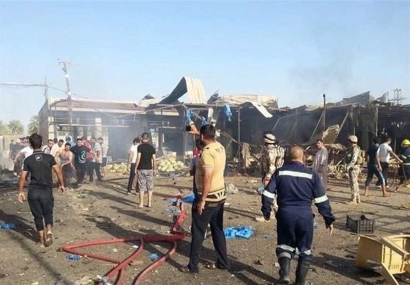 مغربی بغداد میں خودکش دھماکہ