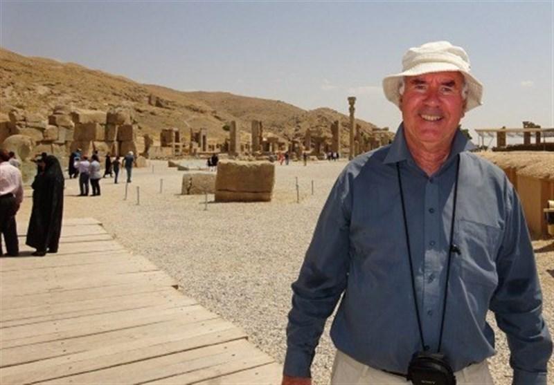 ماذا قال عالم فلک نیوزلندی عن رحلته الى ایران؟