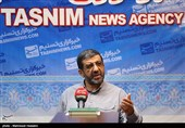 حضور عزت الله ضرغامی در خبرگزاری تسنیم