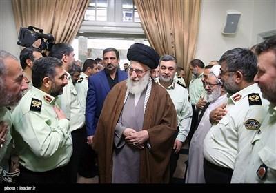Iranian Police Officials, Commanders Meet Ayatollah Khamenei
