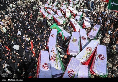 Bodies of 78 Iranian Martyrs Repatriated from Iraq