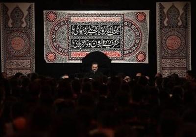 """مراسم العزاء الحسینی فی مقام السید """" علی أکبر جیذر"""" بطهران"""