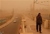 ریزگرد خوزستان