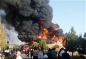 آتش سوزی آذرشهر