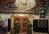 حضور پررنگ مدافعان افغانستانی در حرم حضرت رقیه/ «فاطمیون» با لباس نظامی آمدند