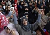 کوئٹہ دہشتگردی میں 5 خواتین کی شہادت پر پریس کلب کے سامنے مظاہرہ