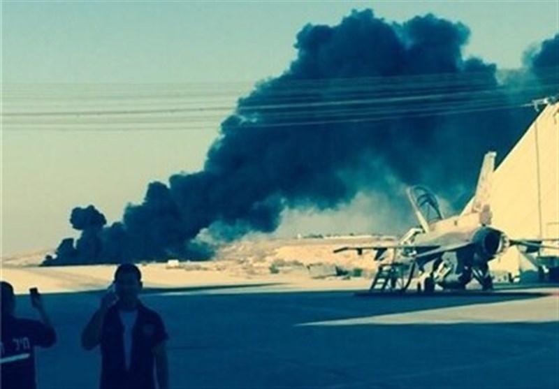 İsrail Savaş Uçağı Yandı