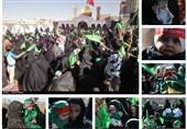 برگزاری همایش شیرخوارگان حسینی در غرب افغانستان + تصاویر