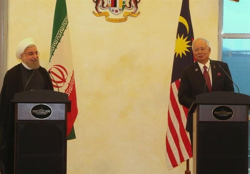 روحانی و نخست وزیر مالزی