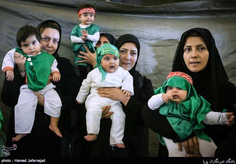 شیرخوارگان حسینی-سربازان گهواره ای امام زمان(عج)