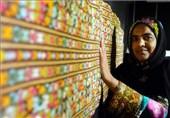 عواید صنایع دستی دختران سرزمین اساطیر برای تجهیز کتابخانه مشهورترین سوزندوز بلوچستان