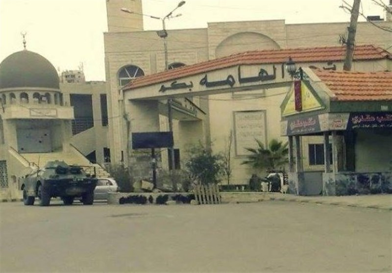 "الجیش السوری یبدأ بدخول بلدة ""الهامة"" بریف دمشق"