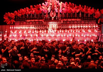 مراسم عزاء ابی عبدالله الحسین(ع) – هیئة الامام الرضا (ع) طهران