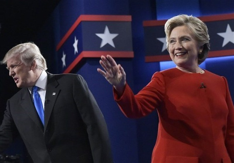 جنجالی ترین مناظره انتخاباتی توسط هیلاری و ترامپ