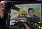 خاکسپاری پیکر مطهر دو شهید از لشکر فاطمیون در تهران