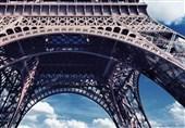 نمایی زیبا از برج ایفل در پاریس !