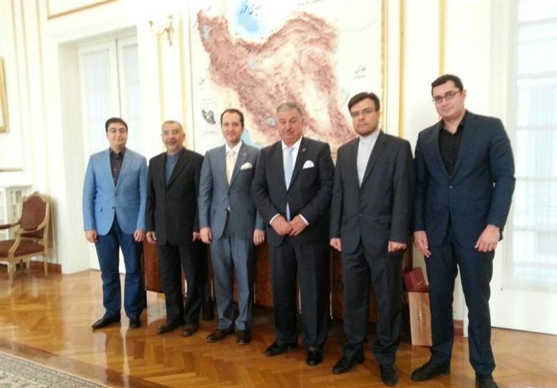 İran Büyükelçisi Fatih Erbakan ile Görüştü