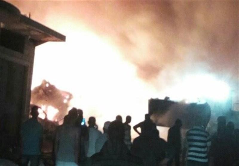 هلع بین الصهاینة عقب انفجار 'غامض' بالقرب من مخازن 'الأمونیا' فی حیفا+فیدیو