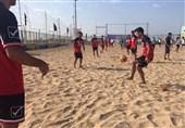 پیگیری تمرینات تیم ملی در سواحل خلیج فارس + تصاویر