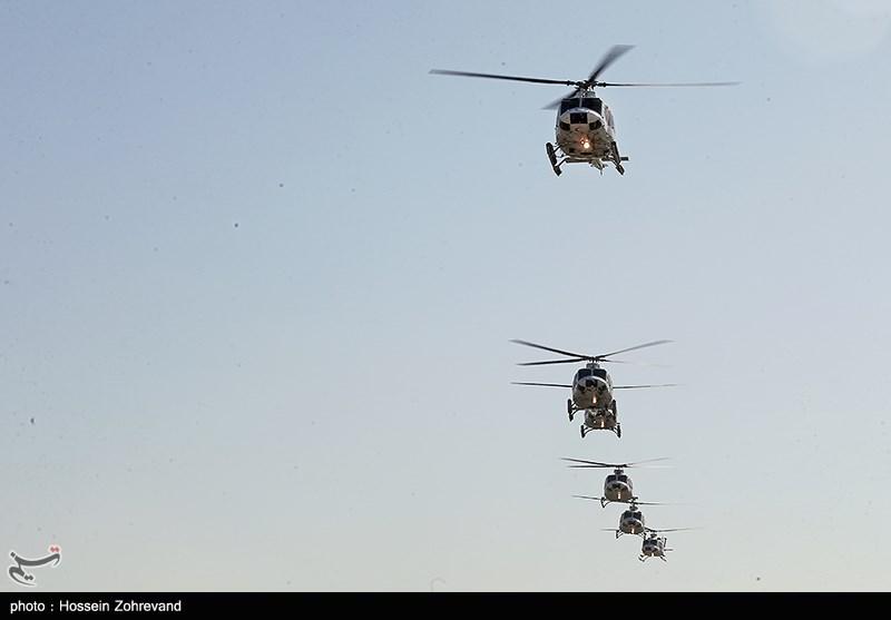 طائرات الإلیوشن ومروحیات الجیش على أهبة الاستعداد للاغاثة