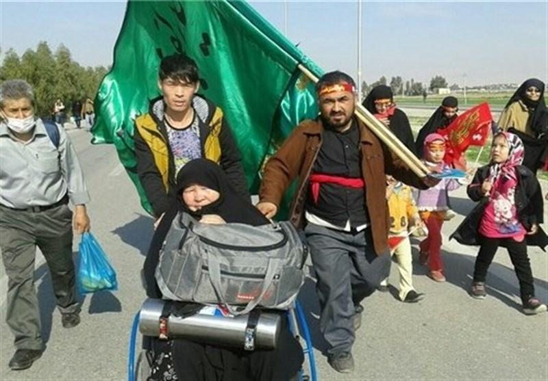 اتفاق إیرانی عراقی لمشارکة المهاجرین الأفغان فی مسیرة الأربعین الملیونیة