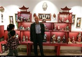 جوانان به سه خصلت آمیخته شوند / بازدید «ادیبی قرآن پژوه» از موزه عروسکها + تصاویر