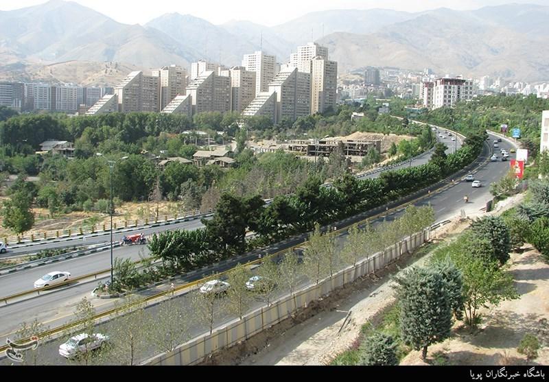 معتادان مسلح در شمال تهران (عکس)