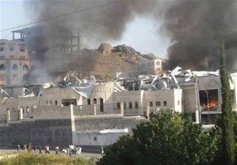 حملات عربستان به مراسم عزا یمن