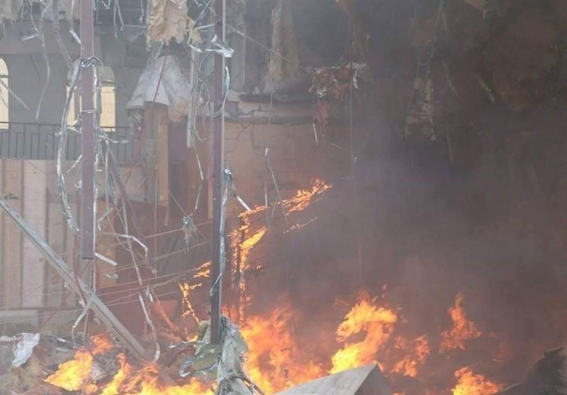 عدد ضحایا استهداف صالة العزاء یرتفع إلى 144 شهیداً و527 جریحاً