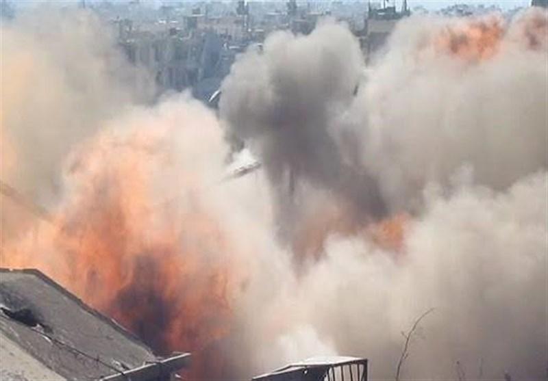 روس - امریکی لفظی جنگ کے سائے تلے شامی فوج کی کارروائیاں/ تصویری رپورٹ