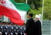 استقبال رسمی از روحانی