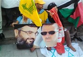 تیونس میں شام اور حزب اللہ کی حمایت میں ریلی/ تصویری رپورٹ