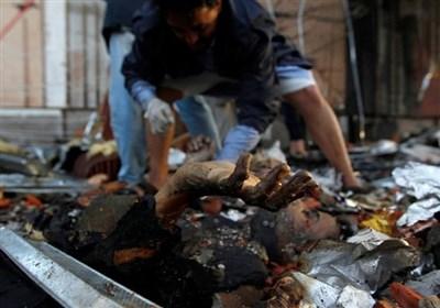 تصاویر هولناک از آخرین جنایت آل سعود