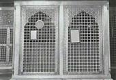 تصویر قدیمی از ضریح مطهر امام حسین (ع) در کربلای معلی